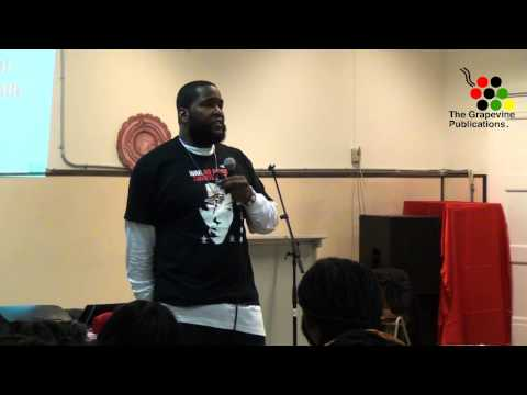 Lecture by Dr. Umar Johnson in Rotterdam