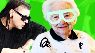 Repeat youtube video DUBSTEP GRANDMA
