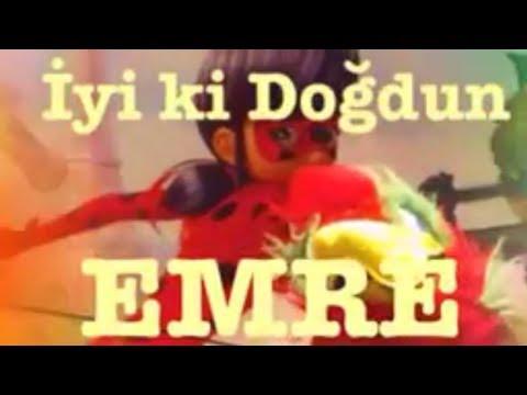 İyi ki Doğdun EMRE :)  1. VERSİYON *happy birthday Emre* Made in Turkey :)