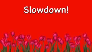 Slow Down (RadioEdit)