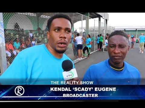 Celebrity Sports Day - drawing attention to Kidney Health St. Lucia