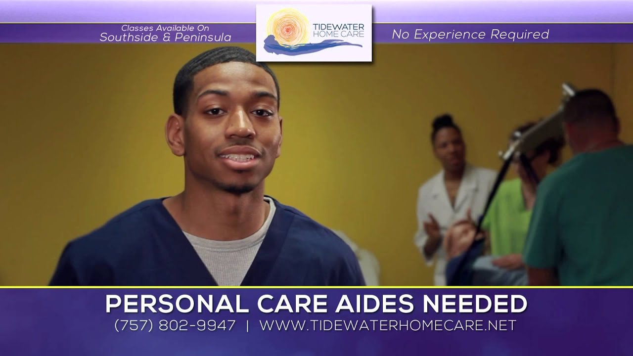 tidewater home care personal care aide training