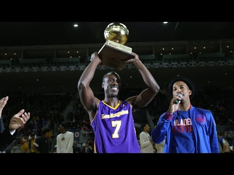 Andre Ingram Makes 39 of 50 Shots to Win NBA D-League 3-Point Contest!