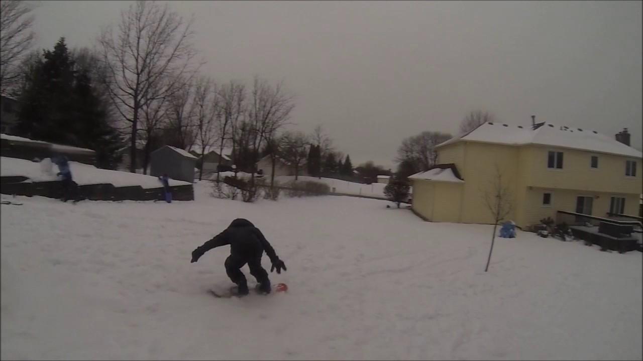 CRAZY backyard terrain park!!!! - YouTube