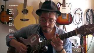 Outside woman blues (Clapton acoustic version) - Tuto guitare + TABS