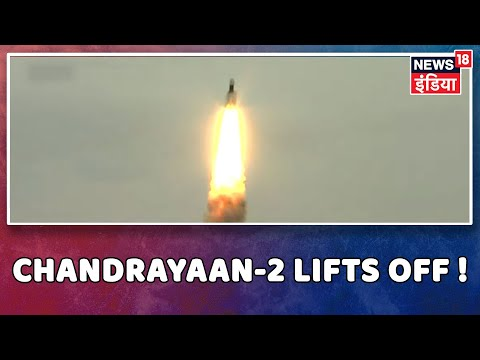 India Scripts History by Successfully Launching Chandrayaan-2 from Sriharikota, Andhra Pradesh