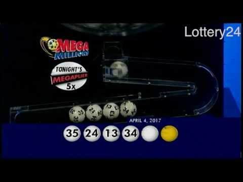 2017 04 04 Mega Millions Numbers and draw results