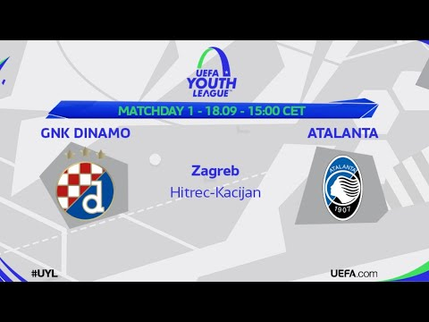Gnk Dinamo Atalanta Bc Uefa Youth League Youtube