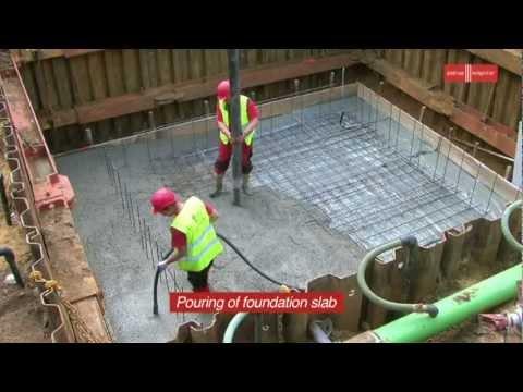 Glatthaar Fertigkeller - Construction of Baby Basement