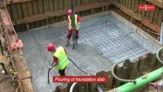 Glatthaar Fertigkeller - Construction Of Baby Basement