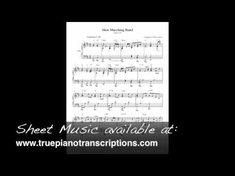Slow Marching Band - Jethro Tull - Piano