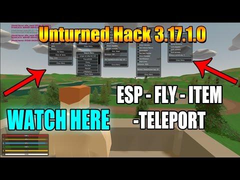 unturned hacks 3.17.1.0