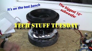 This is why we bench test subwoofers - Tech Stuff Tuesday