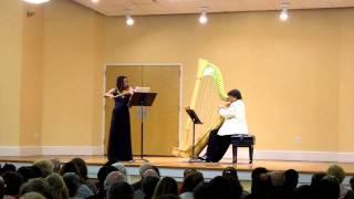 Ann Hobson Pilot, harp & Tai Murray, violin - Romance (Op. 37) Camille Saint-Saens