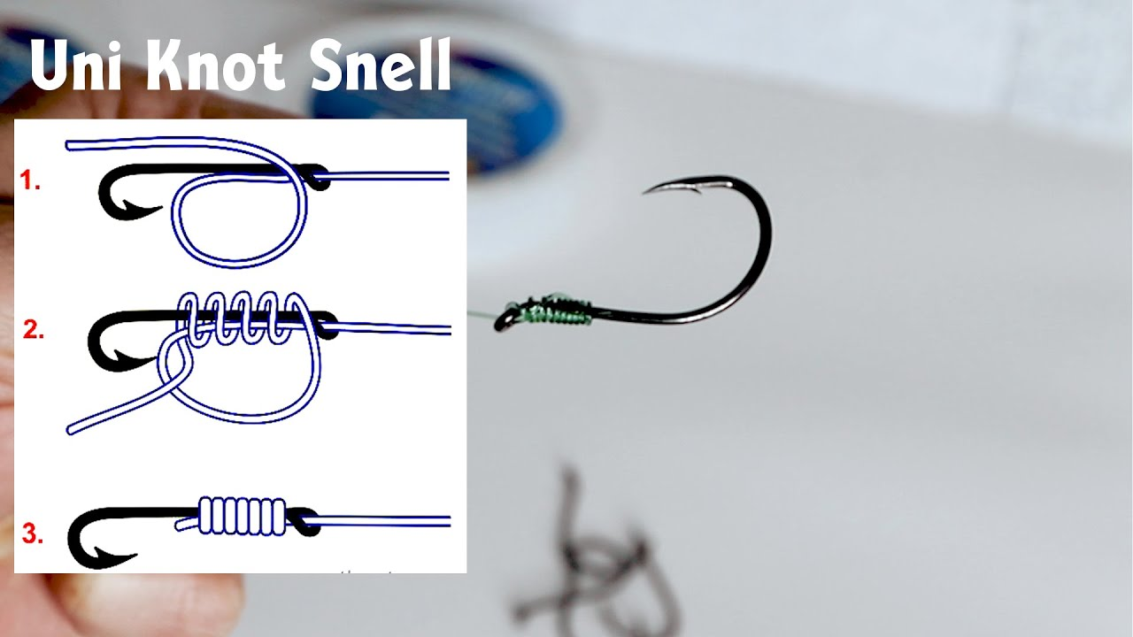 How to put a hook on a fishing line