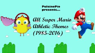 All Super Mario Athletic Themes (1988-2013)