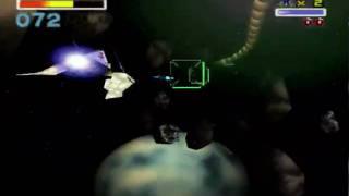 StarFox N64 Lvl2 Asteroid Belt