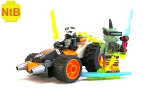 LEGO NINJAGO 71706 COLE'S SPEEDER CAR - REVIEW!