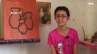 مرسم للفنون الجميلة في قطاع غزة يستقبل الكبار والصغار