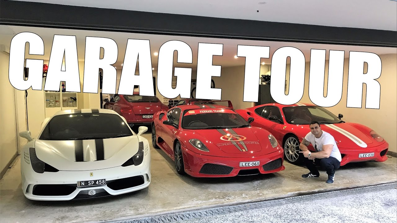 My Personal Supercar Garage Tour 1 Of 3 Ferrari