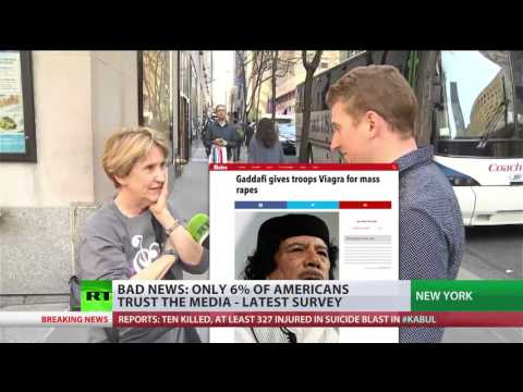 Bad News: Only 6% of Americans trust the media – survey