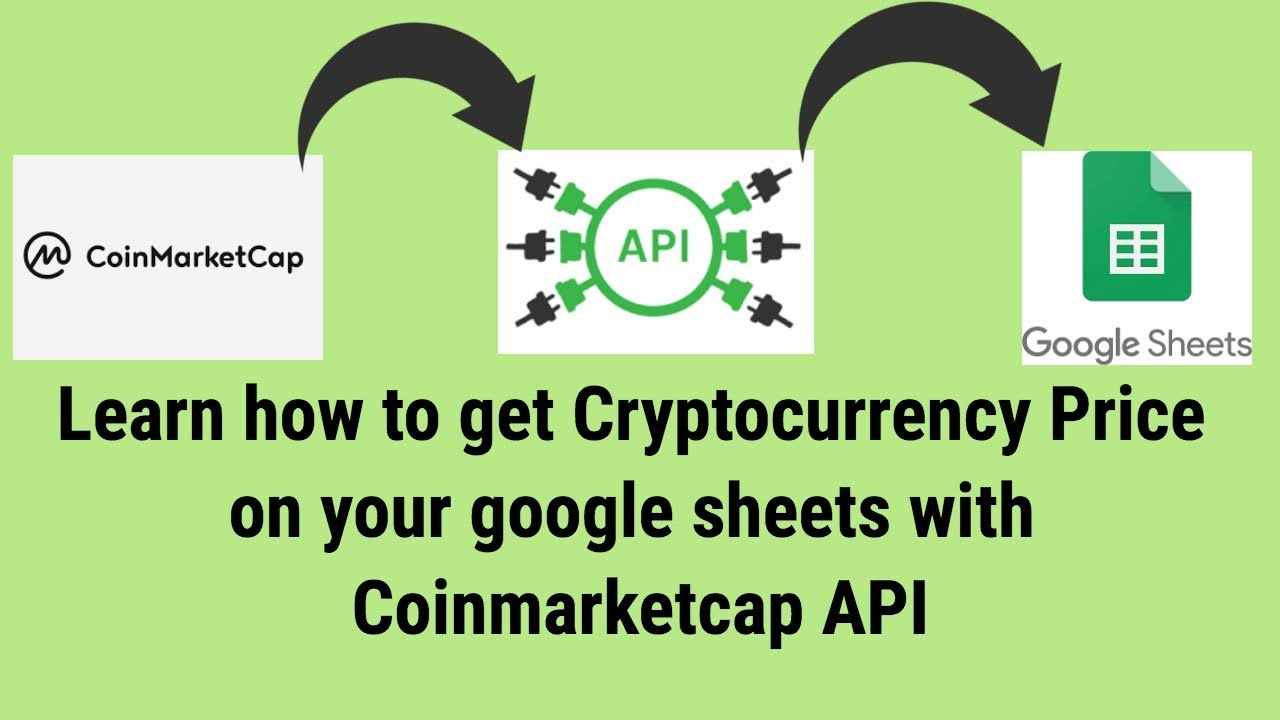 cryptocurrency market api