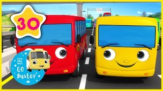 10 Little Buses - Part 4 | Little Baby Bus | Nursery Rhymes | …