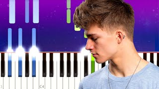 Alex Sampson - Stay Here (Piano Tutorial)