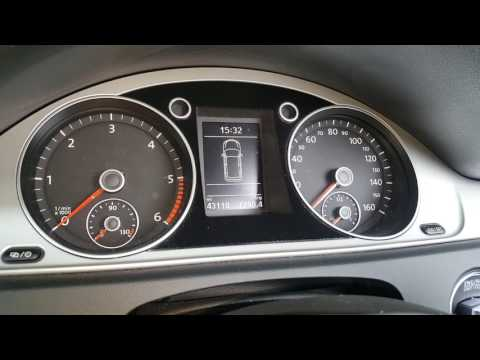 Volkswagen passat 2016 onwards service light reset oil change due