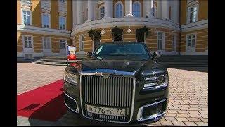 Новый Лимузин Путина Aurus!!!! Ч.2