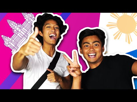 LANGUAGE CHALLENGE! | Filipino VS Cambodian