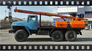 Гидравлическая буровая установка УРБ 2А2 на базе шасси Урал (От Бурaгрегат)