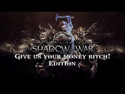 Middle-earth: Shadow of War Microtransactions Market (small rant)