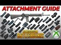 PUBG Xbox One - Comprehensive Attachment Guide - What Does Each Attachment Do?
