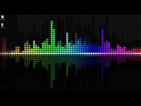 Wallpaper Engine - Customizable Rainbow Visualizer