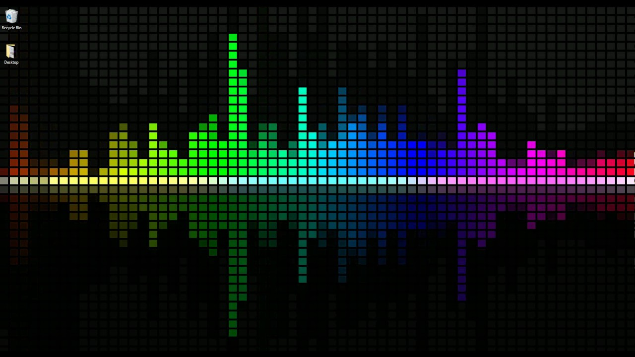 Dj 3d Wallpaper Wallpaper Engine Customizable Rainbow Visualizer Youtube