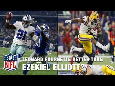 Leonard Fournette: Better than Ezekiel Elliott? | NFL Total Access