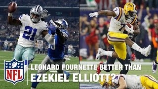 Leonard Fournette: Better than Ezekiel Elliott? | NFL Total Access