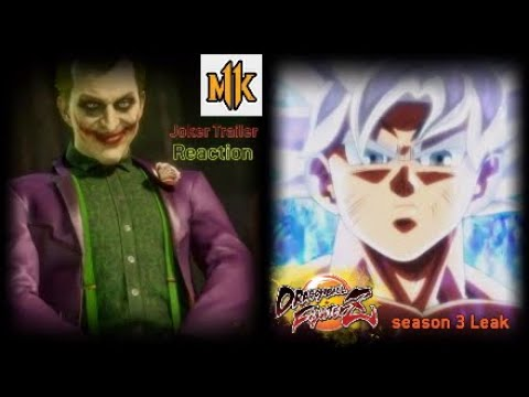 DragonBallFighterZ Leaks/MK11 Reaction | Alot is happening with Fighting Games I had to Share!!