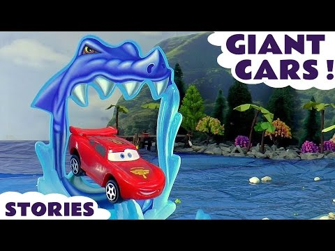 Disney Cars Race Stories with Paw Patrol Minions Thomas & Friends Avengers Spiderman Family Fun