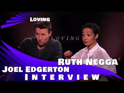 LOVING - Joel Edgerton and Ruth Negga Interview streaming vf