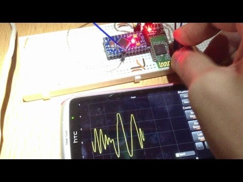 How to part 12 (Android) - Arduino android bluetooth real time graph
