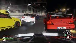 project CARS CPU車両とのレースのゲームプレイ映像です 車両:三菱ラン...