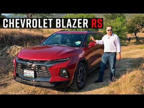 Chevrolet Blazer RS 2019 a prueba.