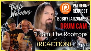 Bobby Jarzombek Drum Cam (REACTION) Fates Warning - From The Rooftops| PATREON REQUEST