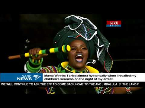 Imilonji KaNtu pay tribute to Mama Winnie in song