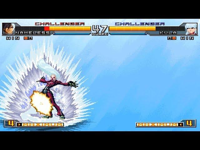 [TAS] KOF2002UM Nameless VS Kula Diamond