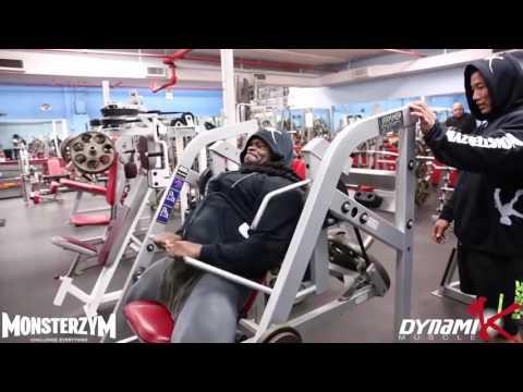 Kai Greene Back Workout