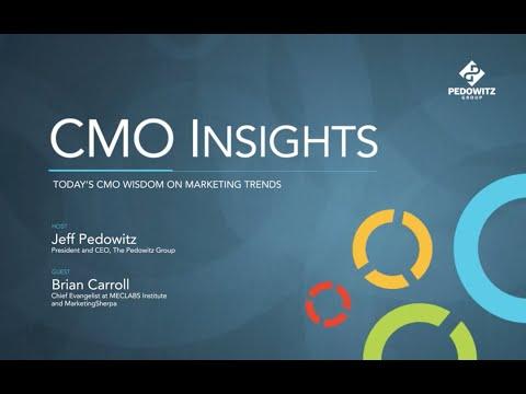CMO Insights: Brian Carroll, MECLABS Institute, Marketing Sherpa