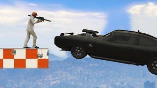 ROKET VS DÜNYANIN EN SAĞLAM ARABASI!! (GTA 5 Online Komik Anlar)